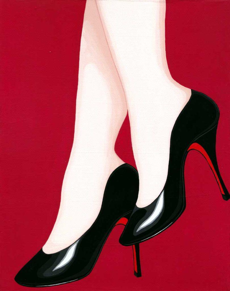 女のプライドの高さはヒールの高さに比例する